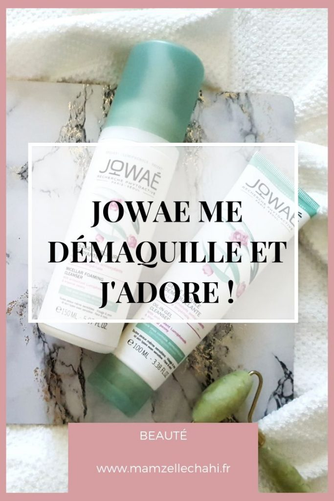 Démaquillants Jowae