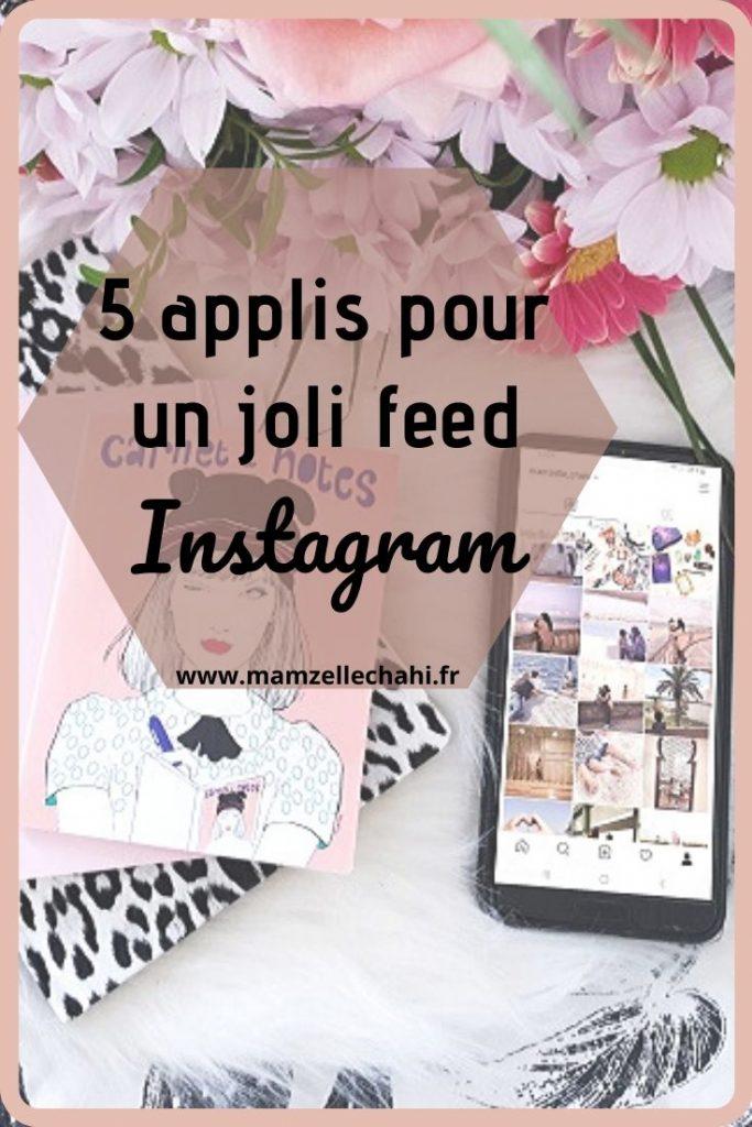 5 applis pour un joli feed Instagram