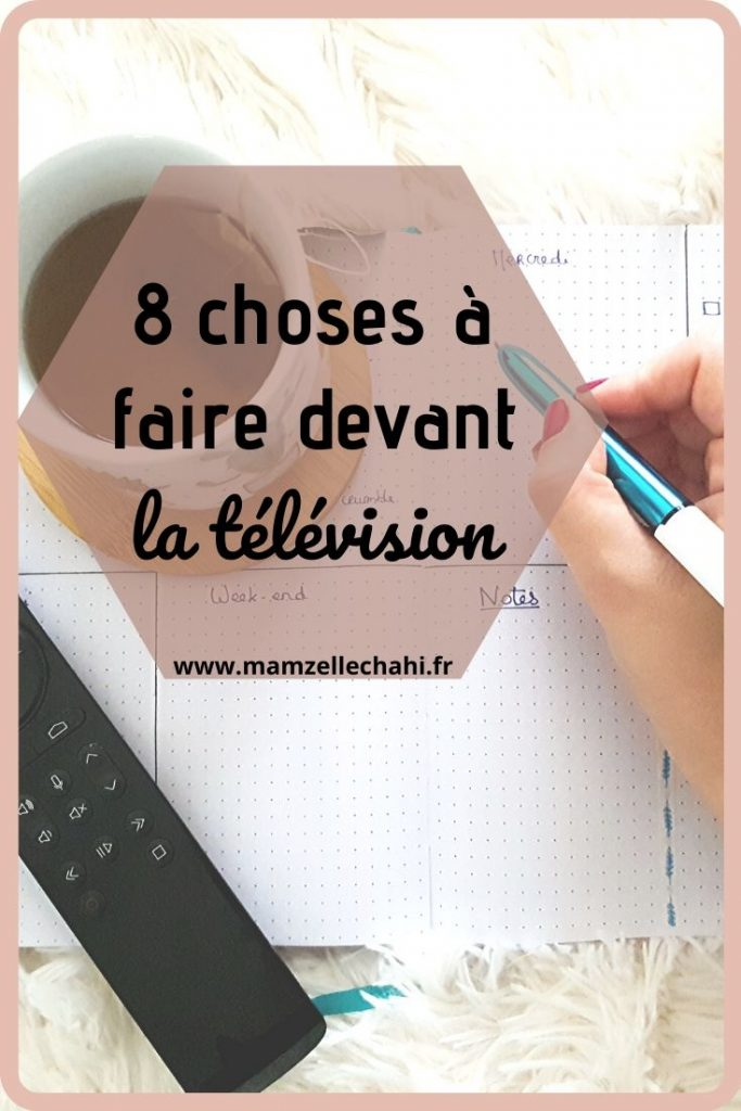 8 choses à faire devant la télé