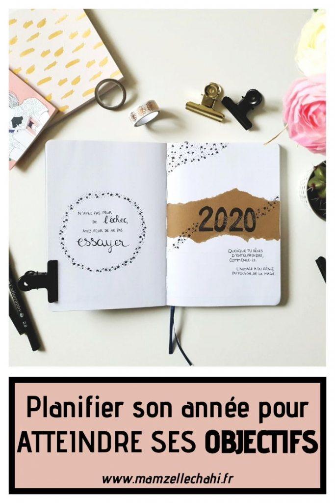 Comment planifier son année pour atteindre ses objectifs ?